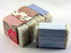 Patchouli Sandalwood scented soap